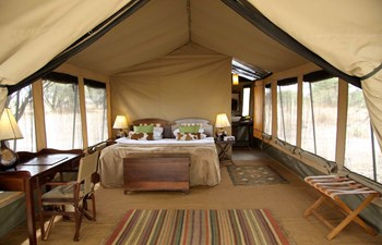 Manyara Ranch Conservancy tent interior