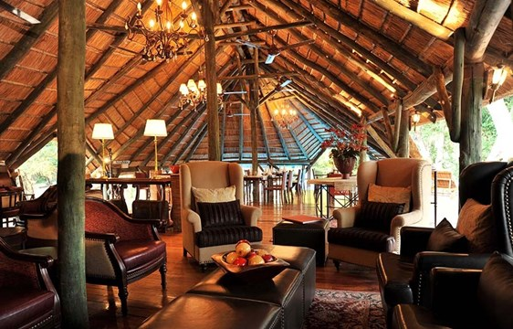 Lounge in Selous Serena Camp