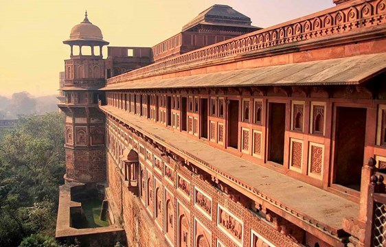 Agra for in India,