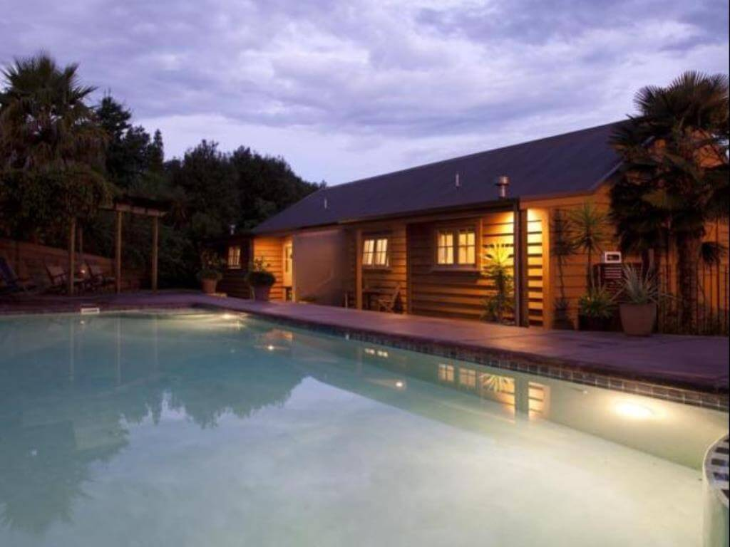 Luxury hotel in Central North Island, Huntington Stables Retreat