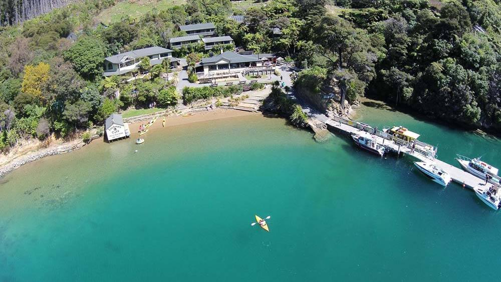 Luxury Hotel in Marlborough Sounds, Lochmara Lodge