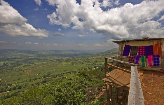 View point of Great Rift Valley in Kenya