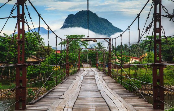 Vang Veing bridge laos