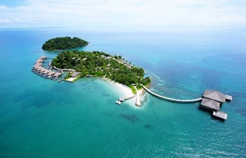 Ariel view of Song Saa Private Island