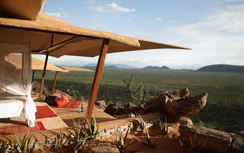 Saruni Samburu viewing deck