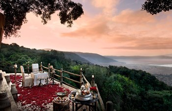 Honeymoon dining experience in Ngorongoro Crater Lodge