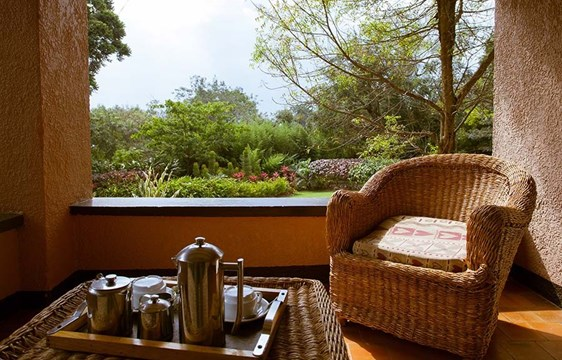 The Boma GuestHouse balcony
