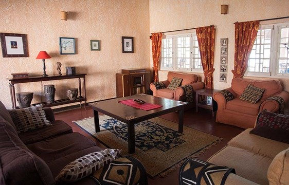 The Boma GuestHouse living room