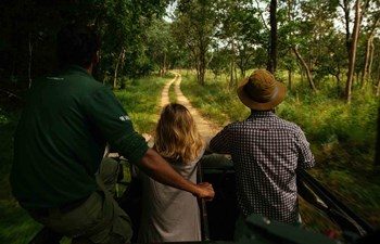 Game drive in Gal Oya National Park