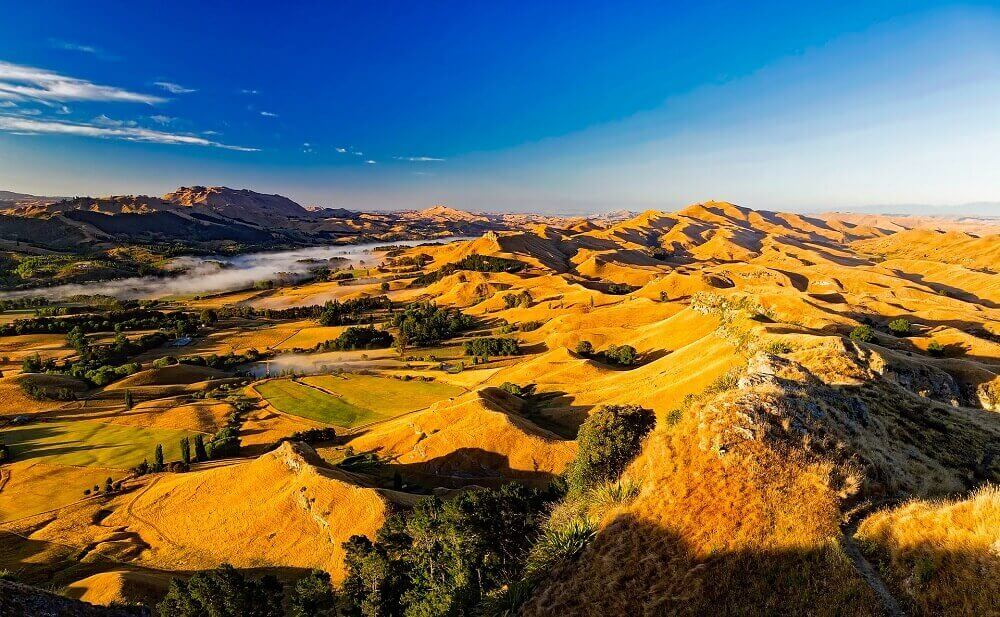 New Zealand Autumn Landscape
