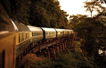 luxury train journeys asia and africa