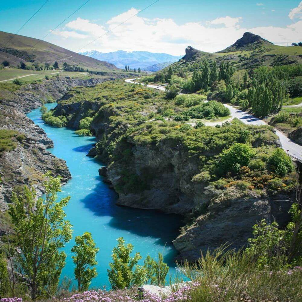 Chard Farm Winery Kawarau River Queenstown Otago South Island New Zealand The Lord of the Rings filming location
