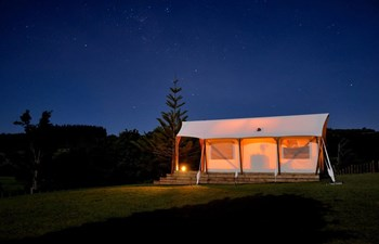 magic cottages at takou river luxury glamping north island new zealand