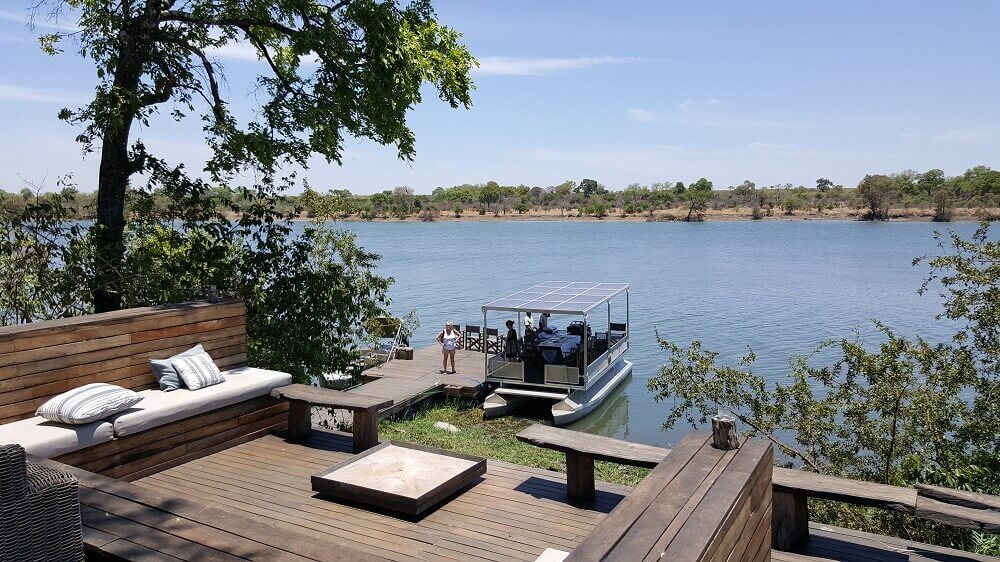 Kafue River boat safari in Zambia