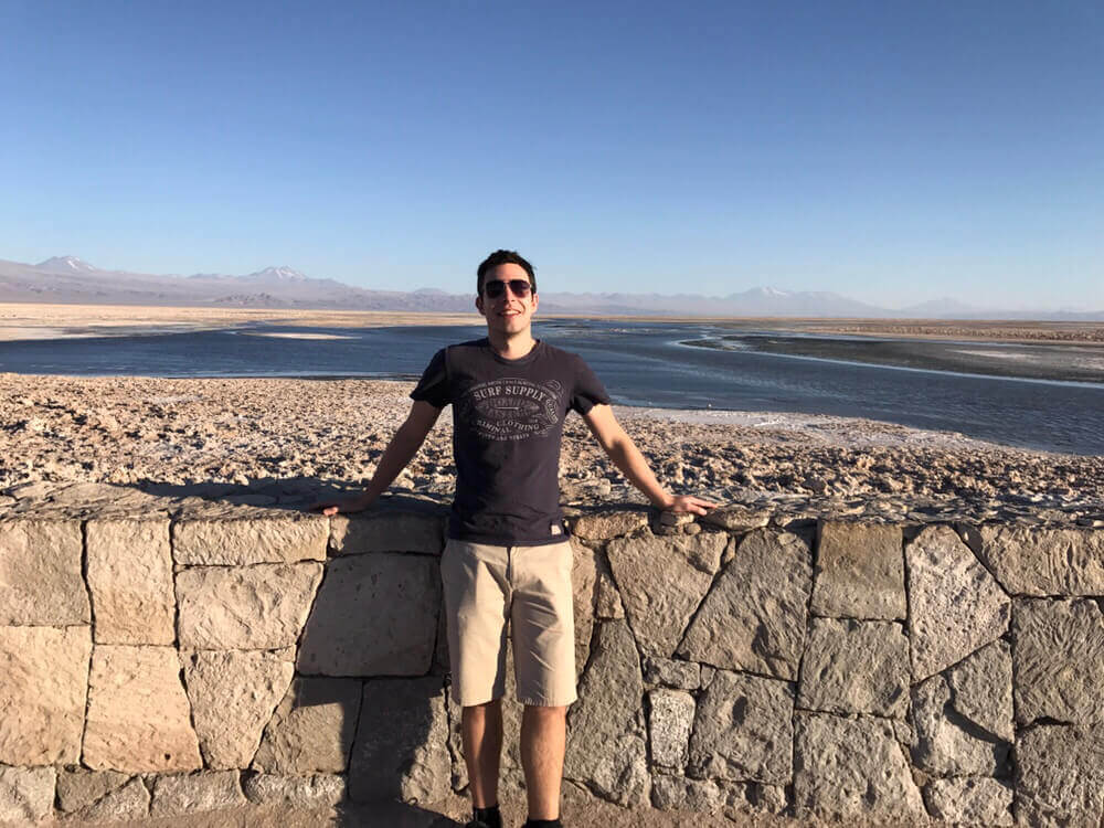 James at the Atacama Desert in Chile