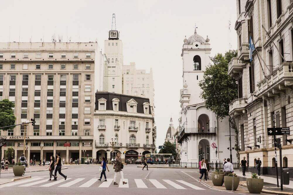 streets of buenos aires argentina