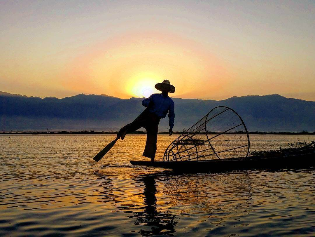 Fishermen of Inle Lake in Myanmar