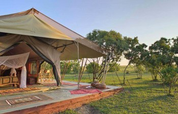 luxury tent at Saruni Wild, Kenya