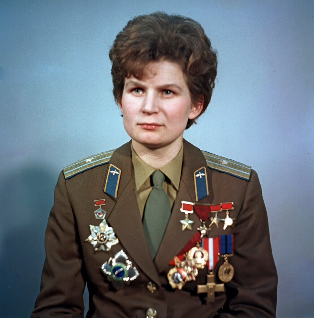 Valentina Tereshkova female Russian cosmonaut
