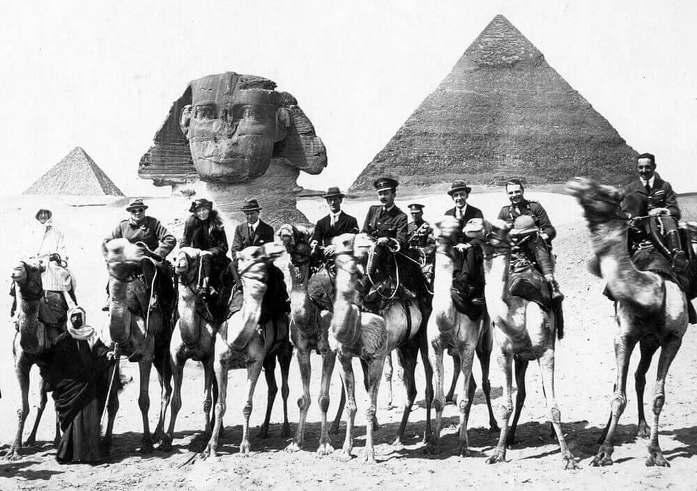 Gertrude Bell female explorer in Egypt