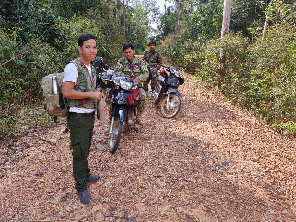 rangers protecting the rainforest