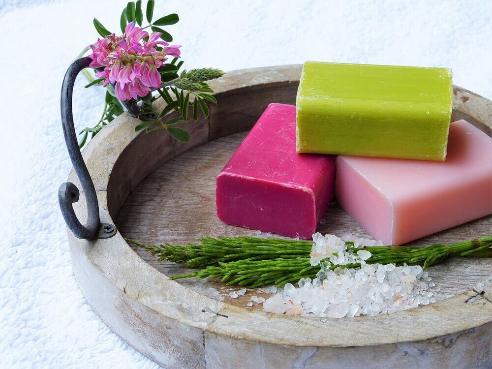 Plastic-free toiletries - soap bars