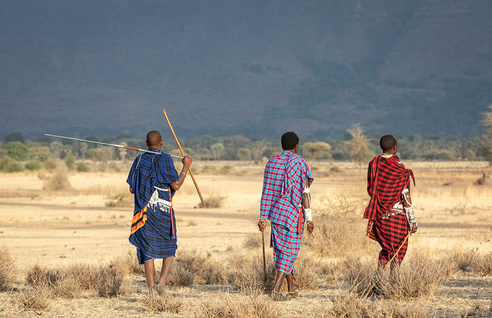 Masai warriors kenya